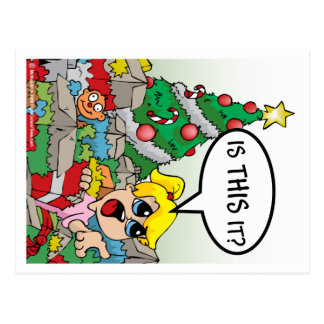 Is This It Christmas Postcard