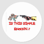 Is this simple enough sticker