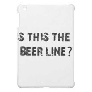Is This The Beer Line iPad Mini Covers
