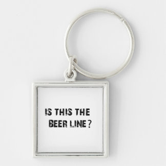 Is This The Beer Line Keychain