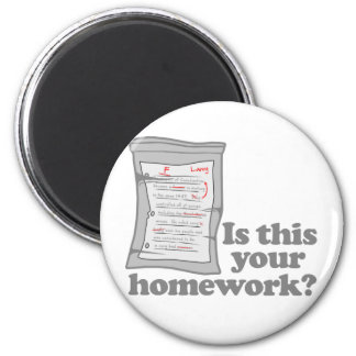 Is This Your Homework Magnets