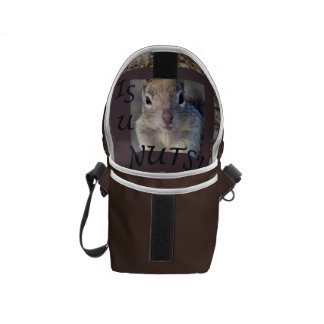 Is U Nuts Messenger Bag