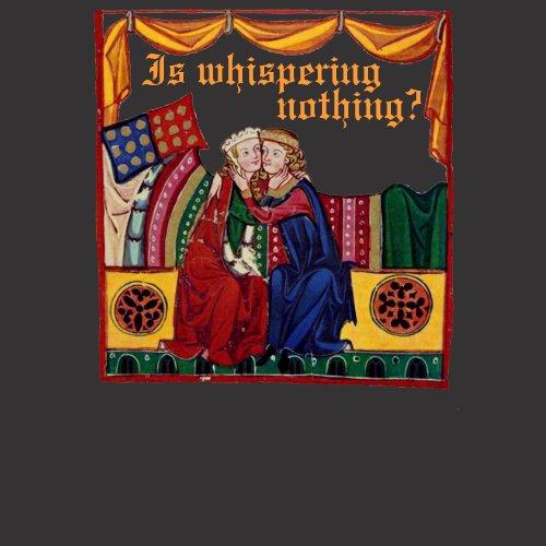 Is whispering nothing? zazzle_shirt