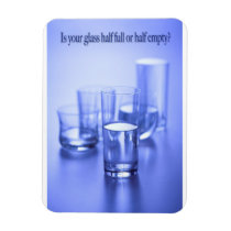 "Is Your Glass 3""x4"" Photo Magnet"