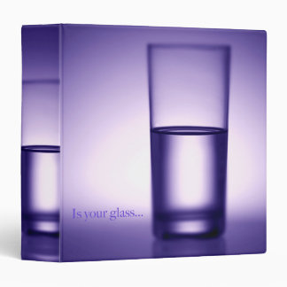 "Is Your Glass Avery Signature 1.5"" Binder"