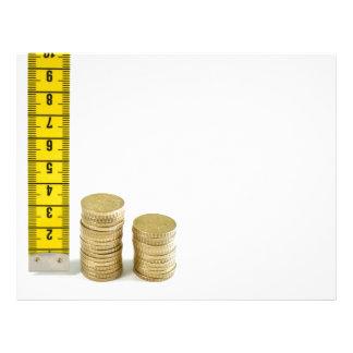 Is your money growing? letterhead