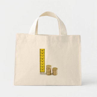 Is your money growing? mini tote bag