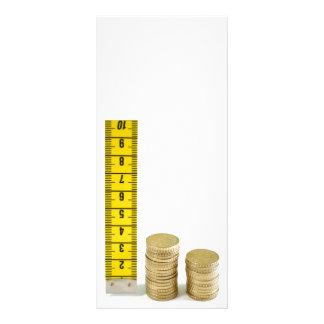 Is your money growing rack card design