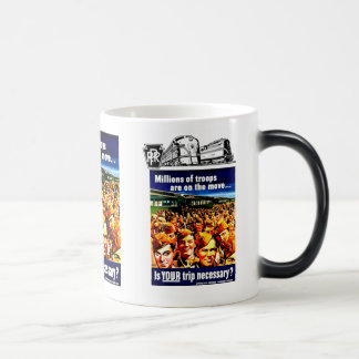 Is your Train Trip Necessary PRR- US  Armed Forces Magic Mug