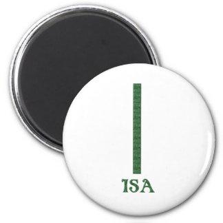 Isa 2 Inch Round Magnet