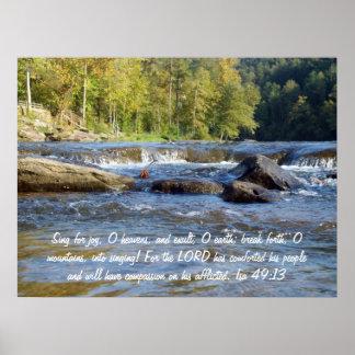 Isa 49:13 poster