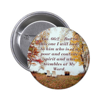 Isa. 66:2 Coffee Mug Button