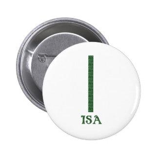 Isa Pinback Button