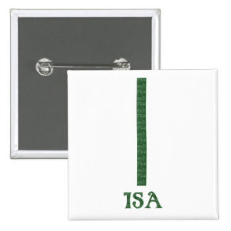 Isa Pinback Buttons
