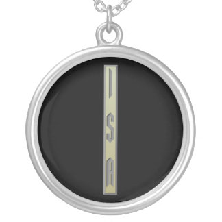 Isa Rune gold Silver Plated Necklace
