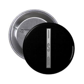 Isa Rune grey Pinback Buttons