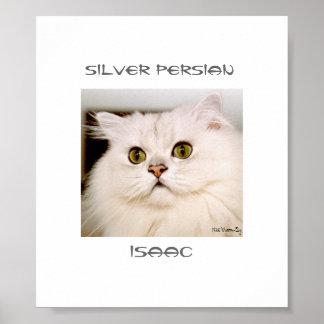 Isaac, An Extraordinary Silver Persian Poster