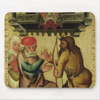 Isaac and Esau from the High Altar Mouse Pad
