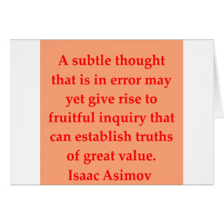 isaac asimov quote cards