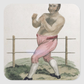 Isaac Bitton, engraved by P. Roberts, published 18 Square Sticker
