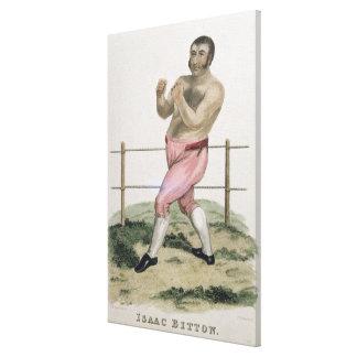 Isaac Bitton, grabado por P. Roberts, publicó 18 Impresiones De Lienzo