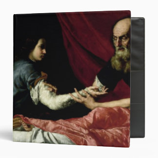 Isaac Blessing Jacob, 1637 3 Ring Binder