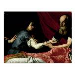 Isaac Blessing Jacob, 1637 Postcard