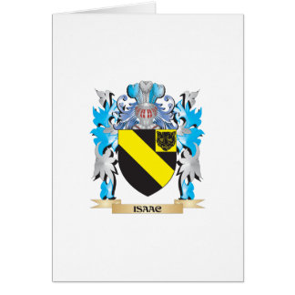 Isaac Coat of Arms - Family Crest Card