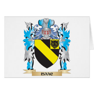 Isaac Coat of Arms - Family Crest Cards