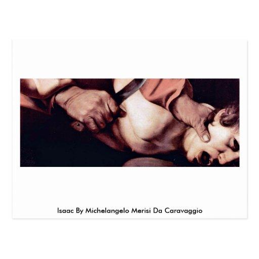 Isaac de Miguel Ángel Merisi DA Caravaggio Tarjetas Postales