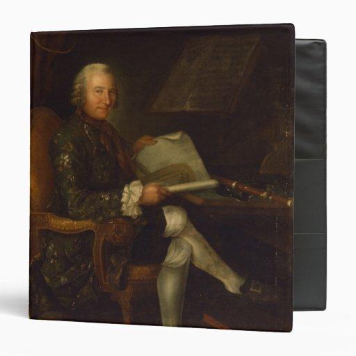 Isaac Egmont von Chasot at his Desk , 1750 Vinyl Binder
