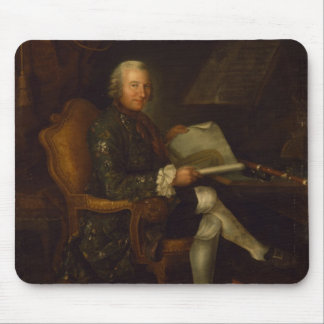 Isaac Egmont von Chasot at his Desk , 1750 Mouse Pad