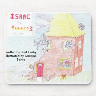 Isaac el Runner3 Mousepad Alfombrillas De Raton