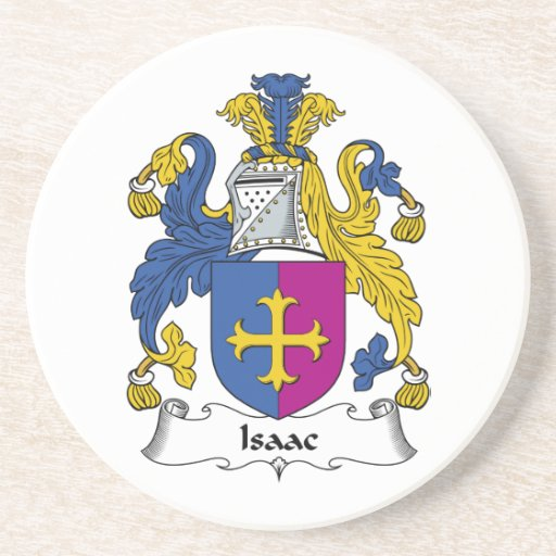 Isaac Family Crest Coaster