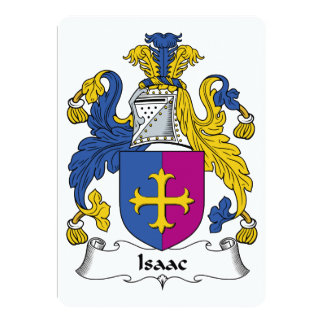 Isaac Family Crest Cards