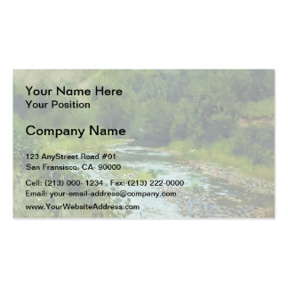 Isaac Levitan- A river Double-Sided Standard Business Cards (Pack Of 100)