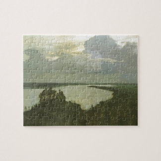 Isaac Levitan- 'Above the eternal tranquility' Jigsaw Puzzle