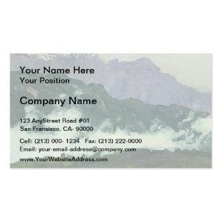 Isaac Levitan- Alps Business Card Template