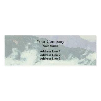 Isaac Levitan- Alps Business Card Templates