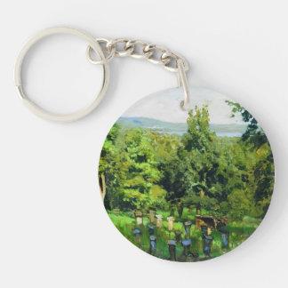 Isaac Levitan- Apiary Acrylic Keychain