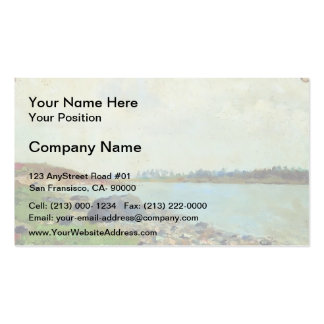 Isaac Levitan- At Moscow-river Double-Sided Standard Business Cards (Pack Of 100)