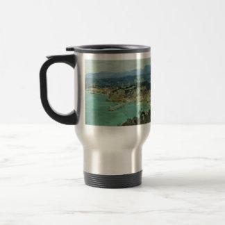Isaac Levitan- At the lake Como. Italy. Coffee Mugs