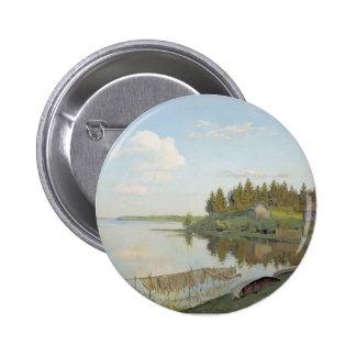 Isaac Levitan- At the lake (Tver region) Pin