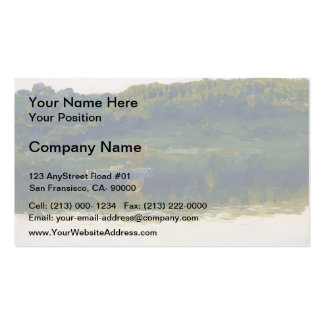 Isaac Levitan- At Volga. Double-Sided Standard Business Cards (Pack Of 100)