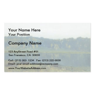 Isaac Levitan- Autumn morning Double-Sided Standard Business Cards (Pack Of 100)