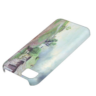 Isaac Levitan- Before the thunderstorm iPhone 5C Cover