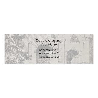 Isaac Levitan-Entrance gate of Savvinsky monastery Business Card Template