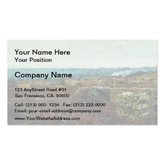 Isaac Levitan- Felling Double-Sided Standard Business Cards (Pack Of 100)