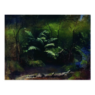 Isaac Levitan- Ferns by the water Postcard