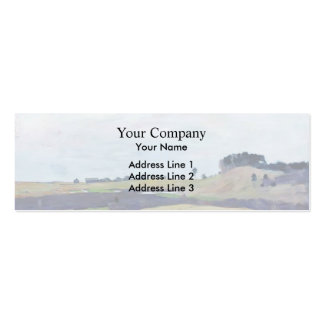 Isaac Levitan- Fields Double-Sided Mini Business Cards (Pack Of 20)